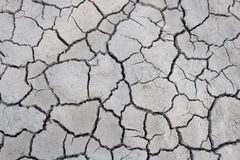 Dried cracked soil, desert, land, agriculture Royalty Free Stock Photography
