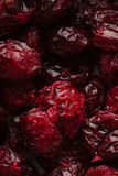 Dried cranberries cranberry fruit as background Stock Photo