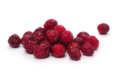 Dried cranberries. Isolated on white background Stock Images