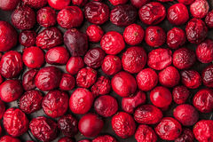 Dried cranberries for mulled wine and hot tea Royalty Free Stock Photography