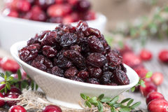 Dried Cranberries Royalty Free Stock Image