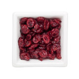 Dried cranberries Royalty Free Stock Photography