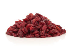 Dried Cranberry Fruit Royalty Free Stock Photos