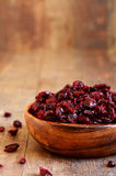 Dried cranberry. Royalty Free Stock Photo