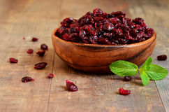 Dried cranberry. Royalty Free Stock Images