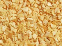 Dried crushed garlic Stock Photography