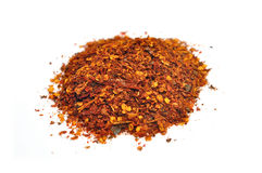 Dried and crushed red peppers Royalty Free Stock Image