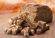 Dried crust Stock Images