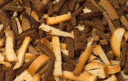 Dried crust. Royalty Free Stock Images