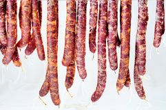 Dried cured salami, Stock Photography
