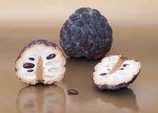 Dried custard apples. Stock Image