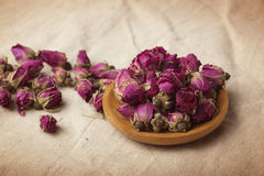 Dried damask rose. Stock Photo