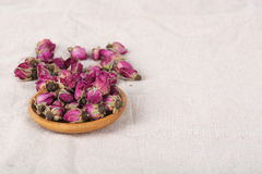 Dried damask rose. Stock Photography