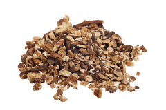 Dried dandelion root tea Stock Photos