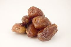 Dried date fruit. Group of dried date fruits Stock Photography