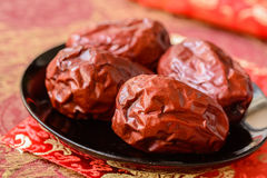 Dried date fruit Stock Photos