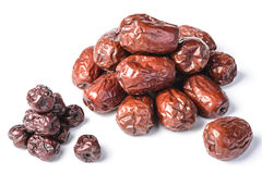 Dried date fruit Stock Images