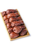 Dried date fruit Royalty Free Stock Photography