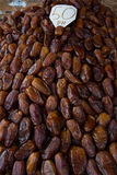 Dried date fruits background Stock Photos