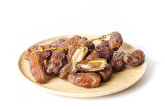 Dried date palm fruit Deglet Noor Stock Image