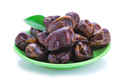 Dried date palm fruit Royalty Free Stock Photos