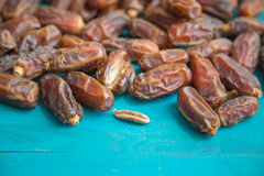 Dried date palm Royalty Free Stock Photography