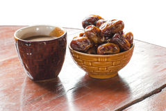 Dried date palm fruits Royalty Free Stock Image