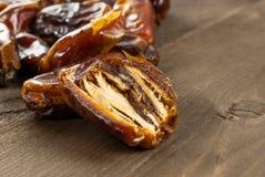 Dried date palm fruits or kurma, ramadan food Stock Image