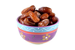 Dried dates. Stock Photography