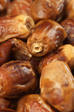 Dried dates close-up Royalty Free Stock Photos