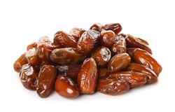 Dried dates Royalty Free Stock Images