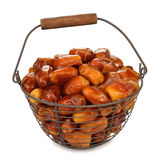 Dried dates Royalty Free Stock Image