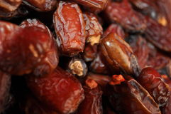 Dried Dates. From the middle east Stock Images