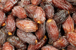 Dried dates for sale in the African market Stock Photo