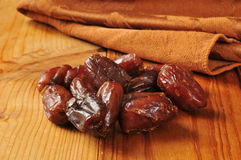 Dried dates Stock Photo