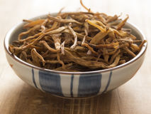 Dried daylily Stock Photos