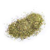 Dried dill isolated on a white background Stock Images