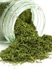 Dried dill weed Royalty Free Stock Image