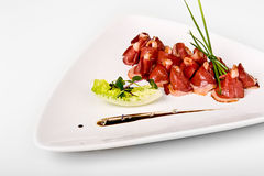 Dried duck breast 2 Royalty Free Stock Image