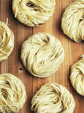 Dried egg noodles Stock Photo