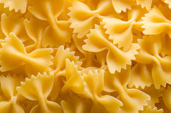 Dried farfalle Royalty Free Stock Photo