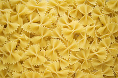 Dried Farfalle Bow Tie Pasta Stock Image