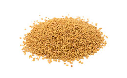 Dried fenugreek seeds Royalty Free Stock Images