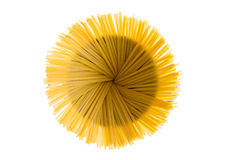 Free Dried Fettuccine Arranged In A Flower Effect Royalty Free Stock Image - 52349106