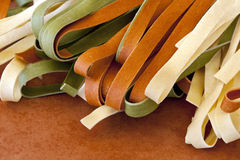 Dried Fettucine Stock Image