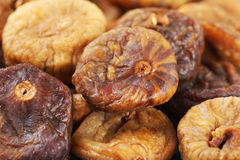 Dried fig background Stock Photography