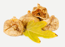 Dried fig fruit Royalty Free Stock Photos
