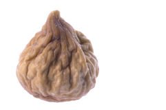 Dried Fig Macro Isolated Stock Photos