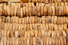 Dried figs. At market place Stock Images