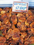 Dried Figs, Athens Markets Royalty Free Stock Photos